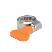 DeLOCK 19512 hose clamp Orange Butterfly clamp