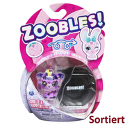 Zoobles Kosmic Kitty Transforming Collectible Figure and Happitat Accessory