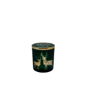 dameco 19950 candle holder Glass Gold, Green
