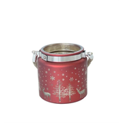 dameco 33960 candle holder Glass Red
