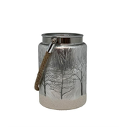 dameco 20234 candle holder Glass Silver