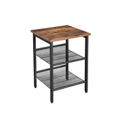 Vasagle LET23X kitchen/dining table Home Square shape Fixed table 4 leg(s)