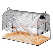 ZOLUX Cage NeoPanas XL with glass cuvette, black