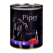 Dolina Noteci Piper with a rabbit - Wet dog food 800 g