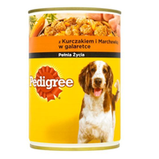 Pedigree with chicken and carrots in jelly 400g