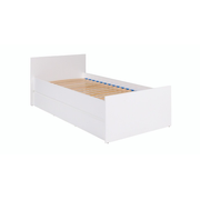 Cama bed (frame + rack; whithout a matress) COCO C8 90x200 white mat