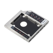 Digitus SSD/HDD Installation Frame for CD/DVD/Blu-ray drive slot, SATA to SATA III, 9.5 mm installation height