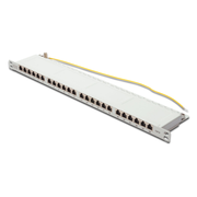 Digitus CAT 6, Class E High Denisity Patch Panel, shielded, grey