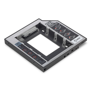 Digitus SSD/HDD Installation Frame for CD/DVD/Blu-ray drive slot, SATA to SATA III, 12.7 mm installation height
