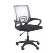 Topeshop FOTEL MORIS SZARY office/computer chair Padded seat Mesh backrest