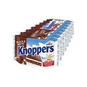 Knoppers Black & White - 8x25g