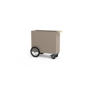 Herstera Divider Cube 100x40x80cm - Taupe