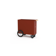 Herstera Divider Cube 100x40x80cm - Rot