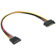 InLine SATA Power Supply Extension Cable male / female 1m