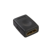 InLine HDMI Adapter HDMI A female / female with gold plated