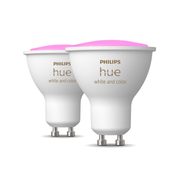 Philips Hue White and colour ambience 2-pack GU10