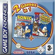 2 Games in 1: Sonic Advance + Sonic Pinball Party GameBoy Advance