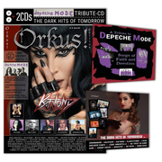 """Orkus-Edition mit DEPECHE-MODE-Tribute-CD """"SONGS OF FAITH AND DEVOTION""""! Plus 2. CD: """"THE DARK HITS OF TOMORROW"""" - Orkus!-Edition Nr. 10–2021 mit diversen Specials zu DEPECHE MODE, RAMMSTEIN, PLACEBO u.a."""