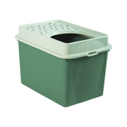 Rotho Berty Cat Top entry litter box Green