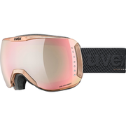 Uvex dh 2100 WE Glamour winter sport goggles Rose gold Unisex Rose Cylindrical(flat) lens