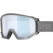 Uvex athletic FM winter sport goggles Grey Unisex Yellow Cylindrical(flat) lens