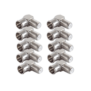 shiverpeaks BS15-300614 coaxial connector F-type 10 pc(s)