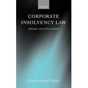 Corporate Insolvency Law: Theory and Application