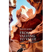 ISBN From Valuing to Value ( A Defense of Subjectivism ) 320 pages English