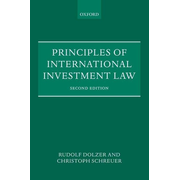 ISBN Principles of International Investment Law book English Paperback 454 pages