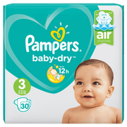 Pampers 81662802 disposable diaper Boy/Girl 3 30 pc(s)