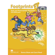 Footprints 3 - Tests and Photocopiable Resources / CD-ROM Pack (1 Audio-CD + 1 CD-ROM)