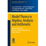 Model Theory in Algebra, Analysis and Arithmetic - Cetraro, Italy 2012, Editors: H. Dugald Macpherson, Carlo Toffalori