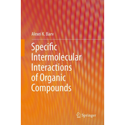 Specific Intermolecular Interactions of Organic Compounds