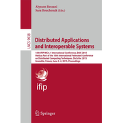 Distributed Applications and Interoperable Systems - 15th IFIP WG 6.1 International Conference, DAIS 2015, Held as Part of the 10th International Federated Conference on Distributed Computing Techniques, DisCoTec 2015, Grenoble, France, June 2-4, 2015, Proceedings
