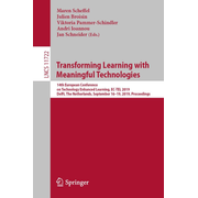 Transforming Learning with Meaningful Technologies - 14th European Conference on Technology Enhanced Learning, EC-TEL 2019, Delft, The Netherlands, September 16–19, 2019, Proceedings