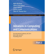 Advances in Computing and Communications, Part II - First International Conference, ACC 2011, Kochi, India, July 22-24, 2011. Proceedings, Part II