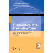 HCI International 2019 – Late Breaking Posters - 21st HCI International Conference, HCII 2019, Orlando, FL, USA, July 26–31, 2019, Proceedings