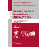 Human-Computer Interaction – INTERACT 2019 - 17th IFIP TC 13 International Conference, Paphos, Cyprus, September 2–6, 2019, Proceedings, Part II