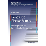 Relativistic Electron Mirrors - from High Intensity Laser–Nanofoil Interactions