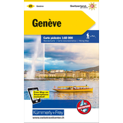 Genève Wanderkarte Matt Laminiert Nr. 21 - 1:60 000, waterproof, Freemap on Smartphone included Matt Laminiert
