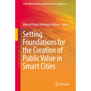 Setting Foundations for the Creation of Public Value in Smart Cities