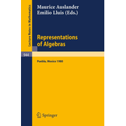 Representations of Algebras - Workshop Notes of the Third International Conference on Representations of Algebras, Held in Puebla, Mexico, August 4-8, 1980
