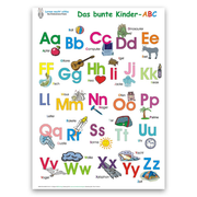 Das bunte Kinder-ABC. Poster / Das bunte Kinder-ABC - Deutsch