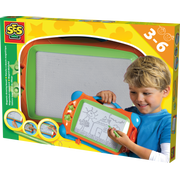 SES Creative SES Magnetic drawing board, Blue, Green, Orange, Boy/Girl, 3 yr(s), 6 yr(s), Netherlands, CE