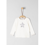 s.Oliver 56.899.31.0757, Female, Pullover, White, Baby (height), Image, Long sleeve