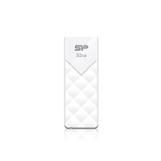 Silicon Power Ultima U03, 32 GB, USB Type-A, 2.0, Slide, 13 g, White