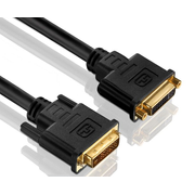 PureLink PI4300-030, 3 m, DVI, DVI, Black, Gold, Copper