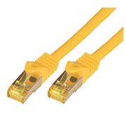 M-Cab 5m Cat7, 5 m, Cat7, S/FTP (S-STP), RJ-45, RJ-45, Yellow