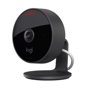 Logitech Circle View, IP security camera, Indoor & outdoor, Wireless, Bullet, Desk/Wall, Black