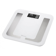 AEG PW 5653 BT, Electronic personal scale, 150 kg, 100 g, kg,lb, Square, White